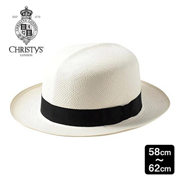 送料無料 CHRISTYS' LONDON 本パナマ ハット オプティモ Classic Folder Panama M~3Lサイズ イギリス製 エクアドル産 スジイリ 筋入り パナマ帽 パナマハット ストローハット つば広ハット メンズ 男性 紳士 春夏 クリスティーズロンドン CPN100010 帽子