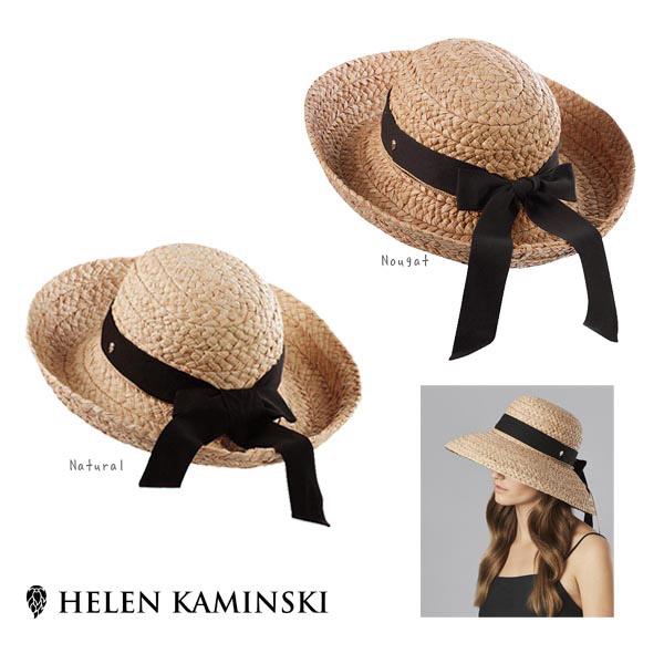 HELEN KAMINSKI CLASSIC5 正規品 スリランカ製 ラフィア ストローハット 麦わら帽子 紫外線対策 UVケア 日よけ レディース 女性 ヘレンカミンスキー クラシック5 春夏 送料無料 帽子