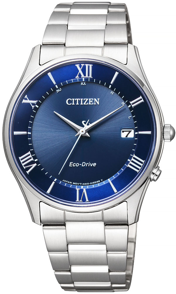 クーポン利用で2000円off ソーラー電波時計 シチズン エコドライブ 薄型 スリム 腕時計 メンズ AS1060-54L CITIZEN