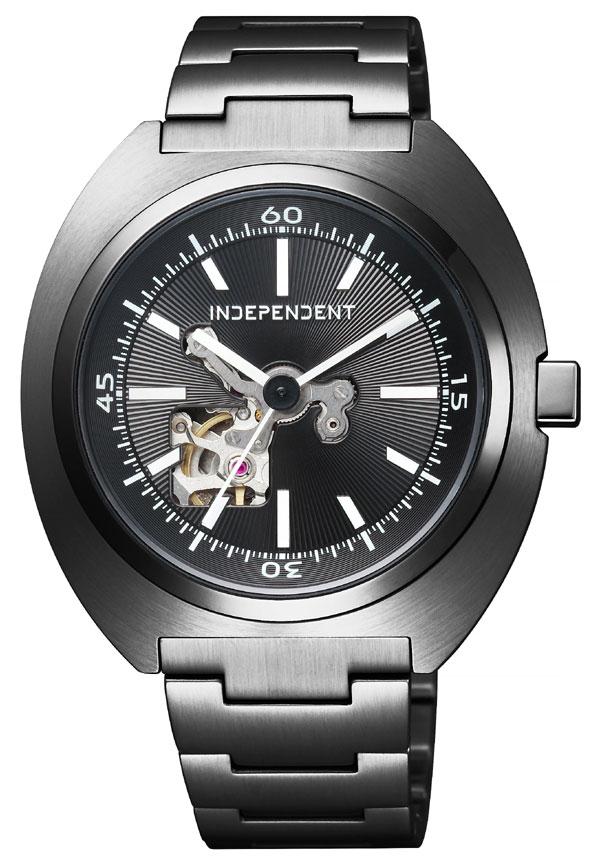 【 さらに10%offクーポン配布中 】 INDEPENDENT CITIZEN[インディペンデント][シチズン] TIMELESS line タイムレスライン BJ3-641-51[BJ364151] 自動巻き 手巻き 機械式 オートマチック メンズ腕時計