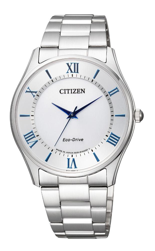 【 さらに10%offクーポン配布中 】 シチズン エコドライブ 薄型 スリム 腕時計 メンズ BJ6480-51B