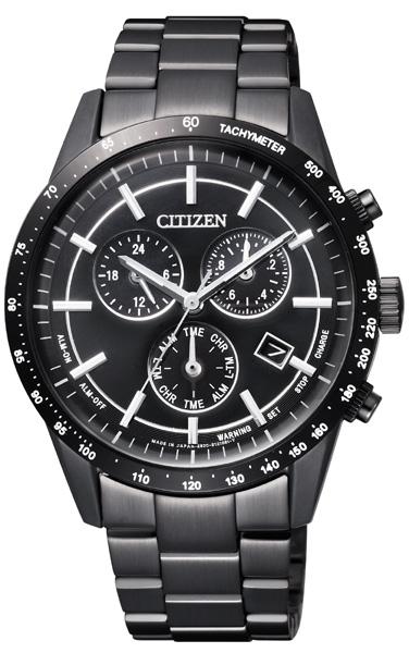 クーポン利用で2000円off シチズン エコドライブ クロノグラフ 腕時計 メンズ BL5495-56E