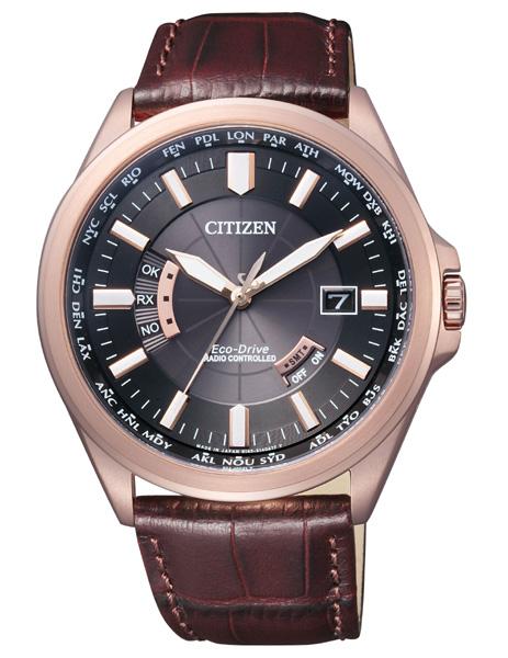 ソーラー電波時計 シチズン エコドライブ ワールドタイム 腕時計 メンズ CB0012-07E CITIZEN