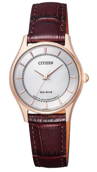 【 さらに10%offクーポン配布中 】 シチズン エコドライブ 薄型 スリム 腕時計 レディース EM0402-05A