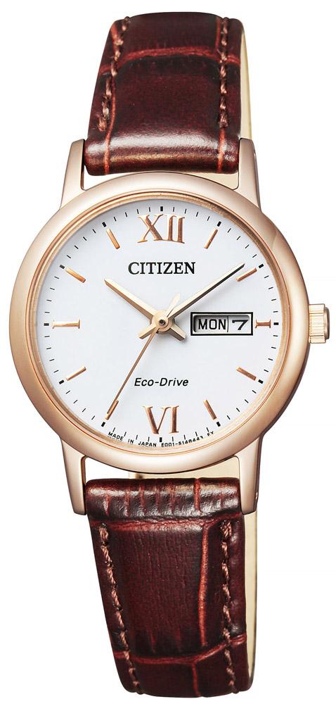 【 表示より2000円offクーポン配布中 】  【 さらに2000円offクーポンあり 】 シチズン エコドライブ 薄型 スリム 腕時計 レディース EW3252-07A