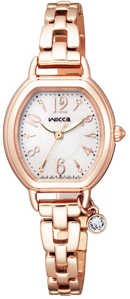 【 さらに10%offクーポン配布中 】 シチズン ウィッカ ソーラーテック wicca チャーム付 レディース ソーラー 腕時計 KP2-566-91