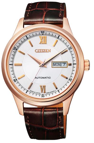 【 表示より2000円OFF クーポンあり 】 シチズン 機械式 機械式腕時計 手巻き 自動巻き 腕時計 メンズ CITIZEN NY4052-08A