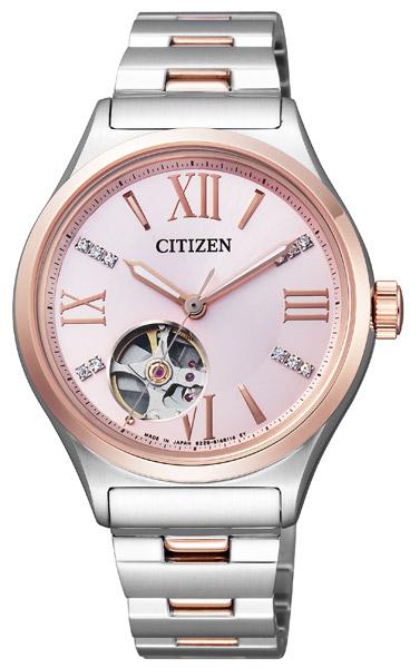 【 2000円off 割引クーポン配布中 】 シチズン 機械式 機械式腕時計 手巻き 自動巻き 腕時計 レディース CITIZEN PC1006-50W