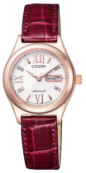 【 表示より2000円OFF クーポンあり 】 シチズン 機械式 機械式腕時計 手巻き 自動巻き 腕時計 レディース CITIZEN PD7162-04A