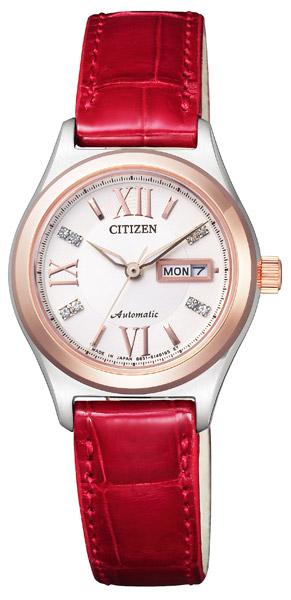 【 表示より2000円OFF クーポンあり 】 シチズン 機械式 機械式腕時計 手巻き 自動巻き 腕時計 レディース CITIZEN PD7164-09A