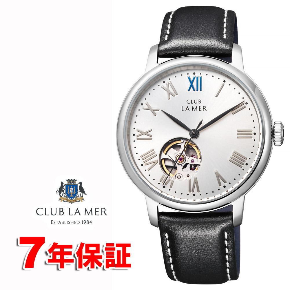 シチズン 機械式 機械式腕時計 自動巻き + 手巻き クラブラメール オープンハート グレー CITIZEN CLUB LA MER BJ7-018-62