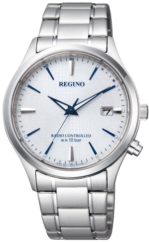 クーポン利用で2000円off REGUNO レグノ シチズン ソーラー電波時計 サファイアガラス メンズ 腕時計 CITIZEN KL8-911-13