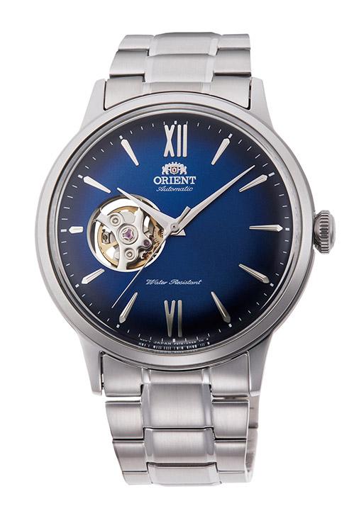 【 さらに10%offクーポン配布中 】 オリエント 機械式 自動巻き 手巻き ハック機能付き 腕時計 メンズ 時計 オープンハート シースルーバック ORIENT RN-AG0017L