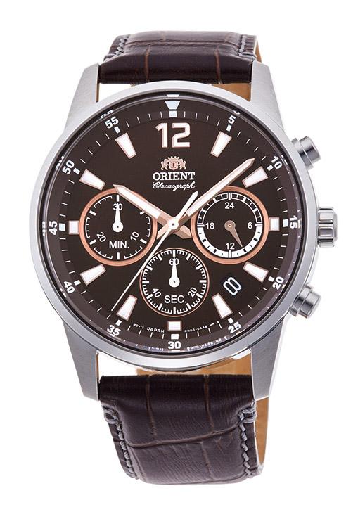 【 さらに10%offクーポン配布中 】 オリエント クロノグラフ 腕時計 メンズ 時計 ORIENT RN-KV0005Y