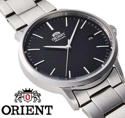 【 2000円off 割引クーポン配布中 】 オリエント 自動巻き 手巻き ハック機能付き バックスケルトン 腕時計 メンズ シンプル 時計 ORIENT watch RN-AC0E01B