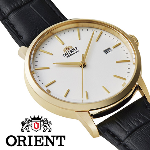 【 さらに10%offクーポン配布中 】 オリエント 自動巻き 手巻き ハック機能付き バックスケルトン 腕時計 メンズ シンプル 時計 ORIENT watch RN-AC0E03S