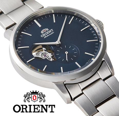 【 2000円off 割引クーポン配布中 】 オリエント 自動巻き 手巻き ハック機能付き オープンハート スケルトン 腕時計 メンズ 時計 ORIENT watch RN-AR0101L