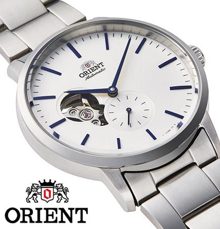 【 2000円off 割引クーポン配布中 】 オリエント 自動巻き 手巻き ハック機能付き オープンハート スケルトン 腕時計 メンズ 時計 ORIENT watch RN-AR0102S