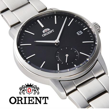 【 2000円off 割引クーポン配布中 】 オリエント スモールセコンド 腕時計 メンズ シンプル 時計 ORIENT watch RN-SP0001B