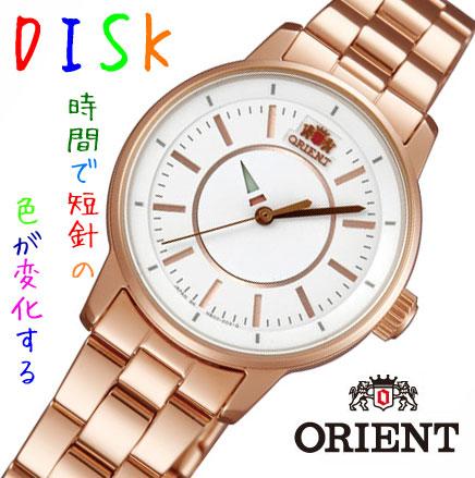 【 表示より2000円OFF クーポンあり 】 ORIENT オリエント レディース腕時計 DISK ディスク WV0021NB [安心の正規品] [送料無料] [腕時計]