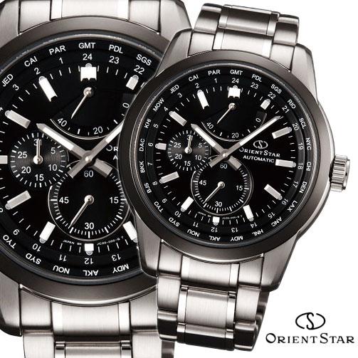 【 さらに10%offクーポン配布中 】 オリエントスター OrientStar 自動巻 オートマチック 機械式時計 ワールドタイム パワーリザーブ メンズ腕時計 WZ0011JC [あす楽対応]