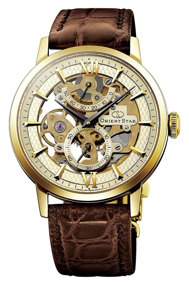 【 2000円off 割引クーポン配布中 】 オリエントスター スケルトン SKELETON OrientStar 手巻き オートマチック 機械式 メンズ 腕時計 WZ0031DX EPSON セイコーエプソン