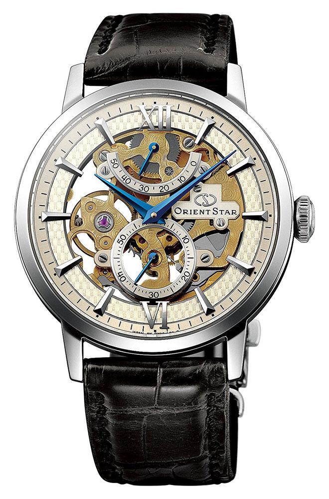 【 さらに10%offクーポン配布中 】 オリエントスター スケルトン SKELETON OrientStar 手巻き オートマチック 機械式 メンズ 腕時計 WZ0041DX EPSON セイコーエプソン
