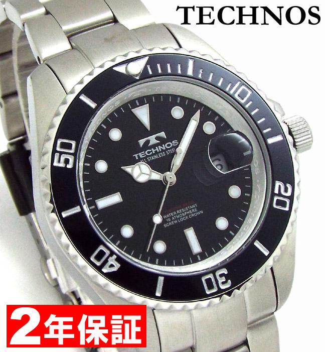 レビューで2年保証 TECHNOS テクノス (国内正規品) TSM402SB [安心の正規品] [] [腕時計]