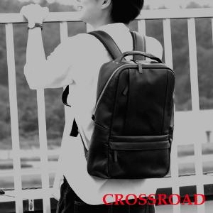 CROSSROAD 軽量 牛革 リュック 日本製 ブラック ブラウン ネイビー グリーン レッド クロスロード UG 505069