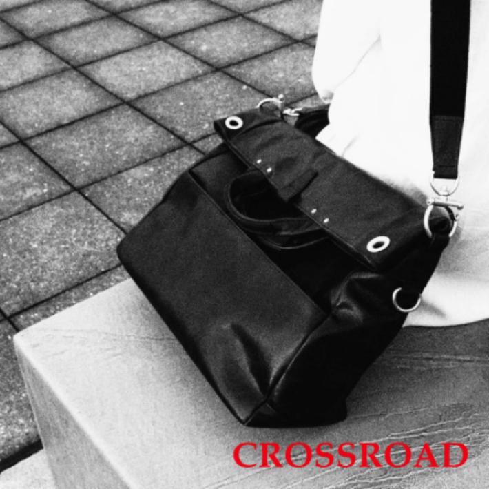 CROSSROAD 軽量 牛革 2WAYバッグ 日本製 ブラック ブラウン ネイビー グリーン クロスロード UG 505056 ショルダーバッグ