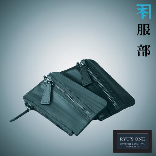 RYU'S ONE 牛革 木目 キーケース ブラック ブラウン リューズワン WD 154036 箱付