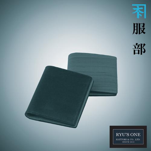 RYU'S ONE 牛革 木目 マネークリップ ブラック ブラウン 箱付 154037 驚きの値段 割引 リューズワン WD