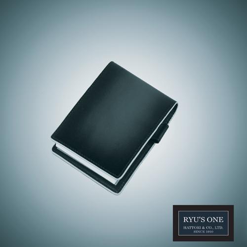 RYU'S ONE 牛革 グラデーション メモ帳カバー メモ帳#11 A7対応 感謝価格 レッド グリーン ネイビー GG 期間限定の激安セール 箱付 リューズワン 154016