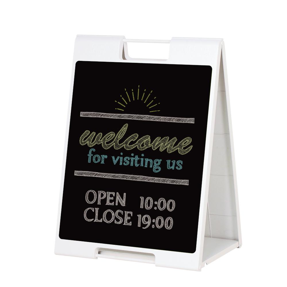 黒板Aサイン 屋内 黒板 スタンド A型 メニュー看板 メニュー表 入口 POP 店舗用看板 立て看板 スタンドサイン