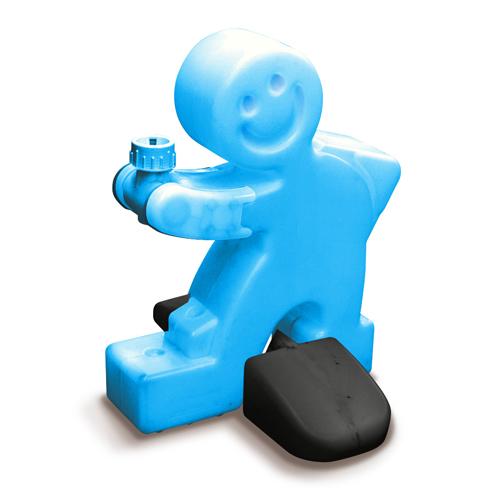 【送料無料】 注水タンク アソビタン君 ブルー のぼり旗注水台