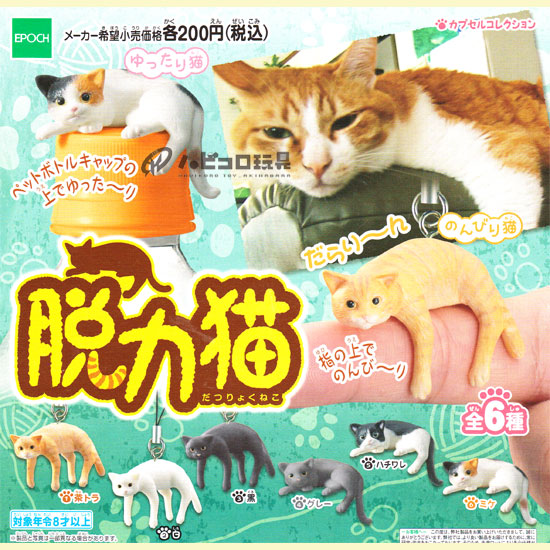 Epoch's capsule collection weakness cat chatter cat loose cats into 4 pieces