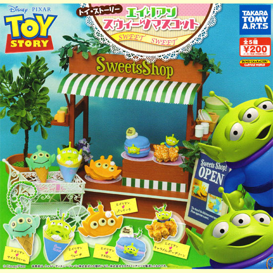 TAKARA TOMY A.R.T.S TOY STORY玩具总动员外国人糕点吉祥物☆全5种安排★