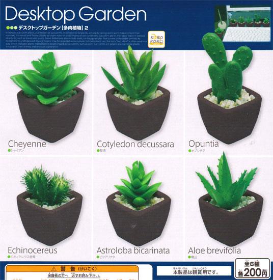 System Service Korokoro Desktop Garden Succulents 2 6 Kinds Set