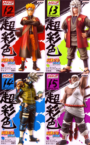 All four kinds of NARUTO- naruto - gale biography Heiss peck coloring figure skating 4 sets