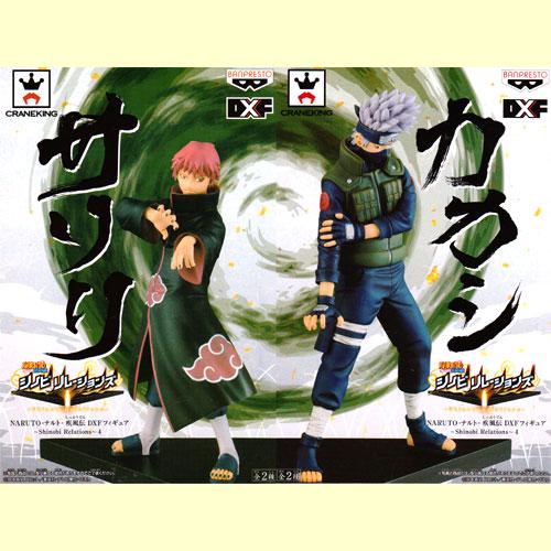 Naruto shippuuden Maden DXF figure ~ Shinobi Relations ~ set of 4 2