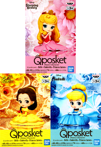 HAVIKORO TOY: All three kinds of Disney Characters Q posket petit