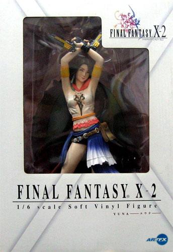 kotobukiya ARTFX FINAL FANTASY最后空想X-2 yuuna 1/6 sofubifigyuasukuueaenikkusu