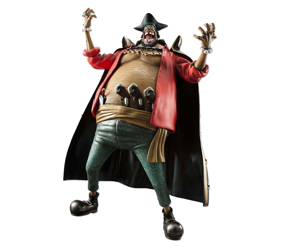 """Megahouse excellent model ONEPIECE P.O.P portrait and of pirates neo-ex """"Blackbeard"""" Marshall D teach Ver.1.5 PVC finished products"""