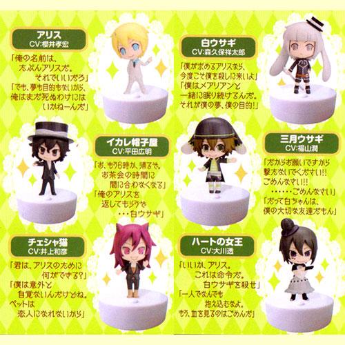 Do ムービック mascot Are you Alice? Set of 6