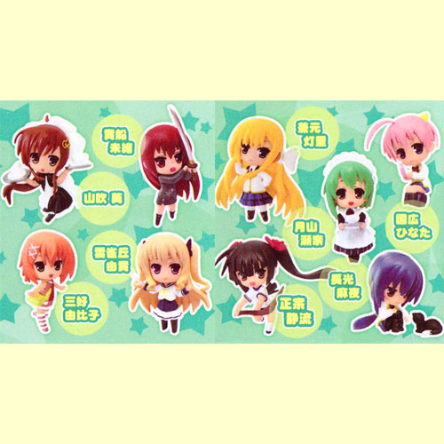 All nine kinds of toys planning YUZUSOFT figure skating collection vol.2 sets