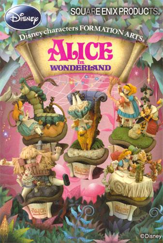 "SQUARE ENIX ALICE in WONDERLAND""不可思议的国家的爱丽丝""队形艺术全5种安排"