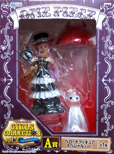 Most betting ONE PIECE one piece GIRLS COLLECTION vol.2-The Strong Girls-A prize ghost Princess Perona PVC figure-special ver....