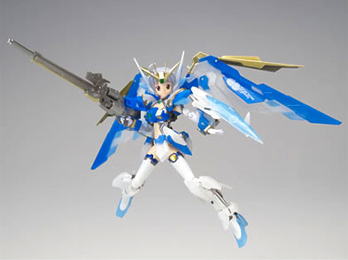 Bandai armor project MS girls Gundam (EW) CODE: snow