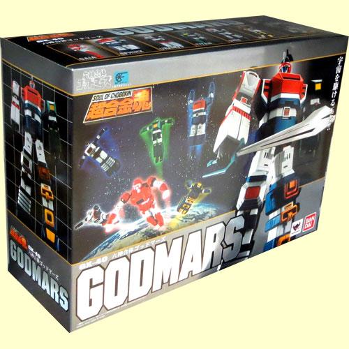 Bandai soul of chogokin soul GX-40 6 God godmars