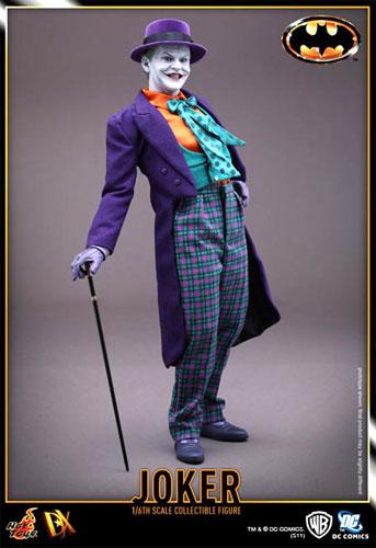【送料無料/代金引換不可】HOTTOYS ホットトイズ ムービー・マスターピースDX08 BATMAN 『バットマン』 1/6スケール ジョーカー